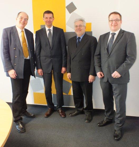CI4-Gründer: D.Pinnow, J.Fleischer, M.Taube, C. Pinnow